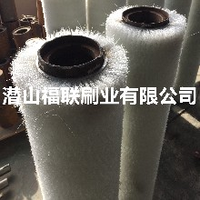厂家定做拉弯矫直线毛刷辊耐酸碱杜邦尼龙丝毛刷辊