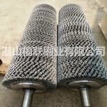 福建铝板抛光磨料丝毛刷辊铜基板抛光刷辊