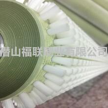 食用菌机械毛刷辊-芋头清洗机毛刷辊-尼龙套毛刷辊