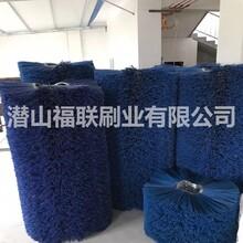 哈尔滨扫雪车扫雪刷片生产厂家,凹凸型扫雪刷片