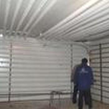 荊州食品物流冷庫安裝工程比澤爾壓縮機5匹