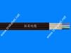 拓柔4X16带2根钢丝龙门吊行走扁电缆、起重机卷盘电缆、柔性扁电缆