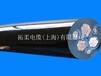 拓柔耐低温电缆、耐寒耐弯曲电缆、防冻电缆、户外用拖曳电缆、高柔性电缆
