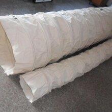 博泰定做除尘器软连接电厂帆布伸缩布袋高强度帆布伸缩布筒