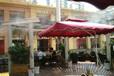 湖北宜昌咖啡店室外座区人造雾降温