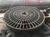 新疆哈密特厚钢板数控切割330mm340mm方法兰