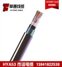 供应20芯足方铠装市话通信HYA531020.5双铠护套直埋电缆