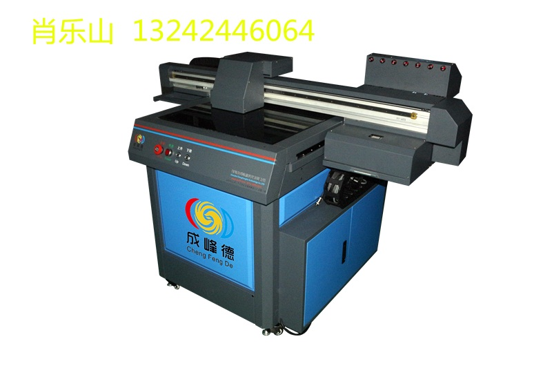 成峰德6060高款450mm打印厚度uv打印机酒盒酒瓶打印机