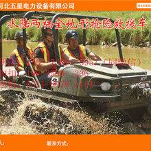 冀虹瓦尔特水陆通用气垫船(水陆两栖气垫船)如风驶来