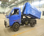 电动环卫设备厂家钩臂式垃圾箱价格优势三石机械图片