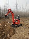 哪里有卖农用小型挖掘机厂家济宁三石工程机械有限公司图片