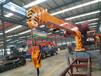 5吨随车吊臂图片大全微型吊臂生产厂家为您省钱济宁三石