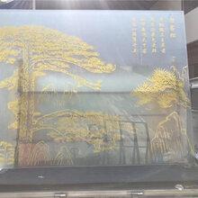 大型艺术玻璃打印机设备10年专业技术玻璃UV彩印机厂家免费上门安装图片