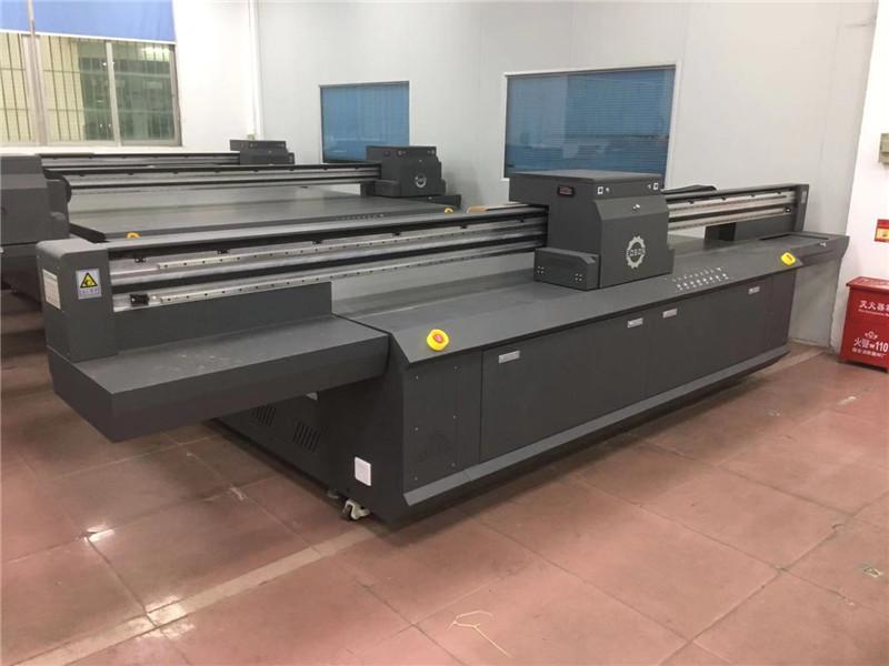 玻璃UV彩印机大型玻璃印刷机智能玻璃印花设备厂家上门安装