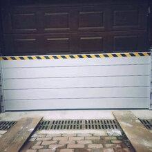 产业园汛期挡水板_地下设施挡水门_尺寸可以定做的挡水墙图片