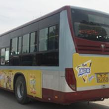临淄公交车身广告