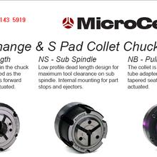 优势产品Microcentric精密动力卡盘磨床车床卡盘夹具