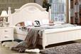 供应南康白漆床套房家具梳妆台床头柜衣柜沙发