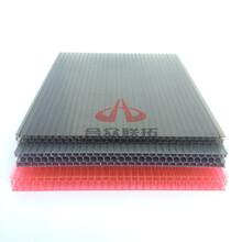 合众联拓提供专业抗冲击隔音保温聚碳酸酯PC蜂窝板安装
