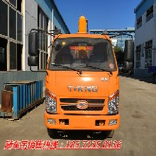 货车随车吊单桥4吨随车吊专用底盘ZB1080TDE3F