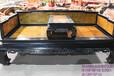 紫光檀嵌金丝楠罗汉床组合