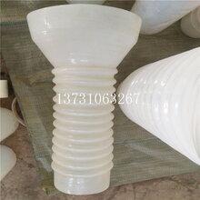 供应白色大口径硅胶管变径驼峰管耐高温硅胶管食品级硅胶软连接图片