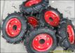 批发高耐磨小人字轮胎4.50-10/12/14微耕机轮胎可配内胎钢圈