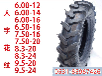 加厚耐磨正品播种机轮胎9.5-24可配内胎钢圈拖拉机轮胎