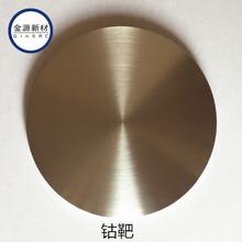 金屬鈷靶材鈷顆粒高純鈷靶材CoTarget圖片