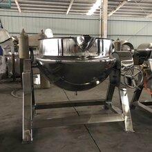 食品蒸煮設備廠家尾扒高溫加工夾層鍋圖片