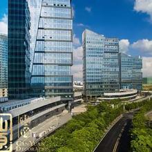 南宁绿港国际写字楼装修给绿城增添不一样的新高度