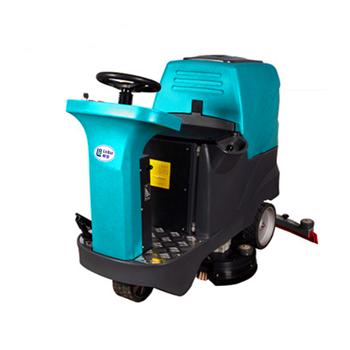 包邮厂家直销驾驶式电动洗地机个车间道路用青岛全自动洗地机洗地拖地一体机
