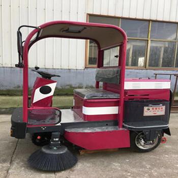 柳宝直销驾驶式电动扫地车物业小区道路用电动扫地车