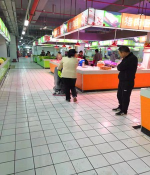工厂车间手推式洗地机商场超市全自动清洗机