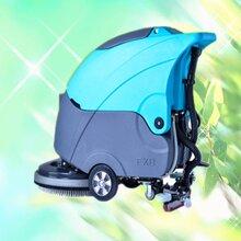 柳宝小型洗地机手推式洗地机全自动洗地机商场洗地机电动洗地机图片