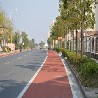 彩色透水沥青路施工