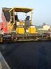 黑色沥青路面施工