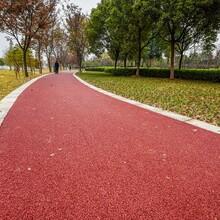 郑州二七彩色沥青喷涂专业队伍图片