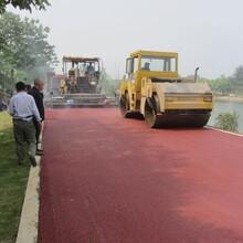 郑州登封学校球场沥青施工图片