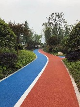 鄭州金水區學校瀝青道路圖片