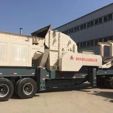 南京市建筑垃圾处理利用移动式建筑垃圾破碎筛分站帮您实现图片