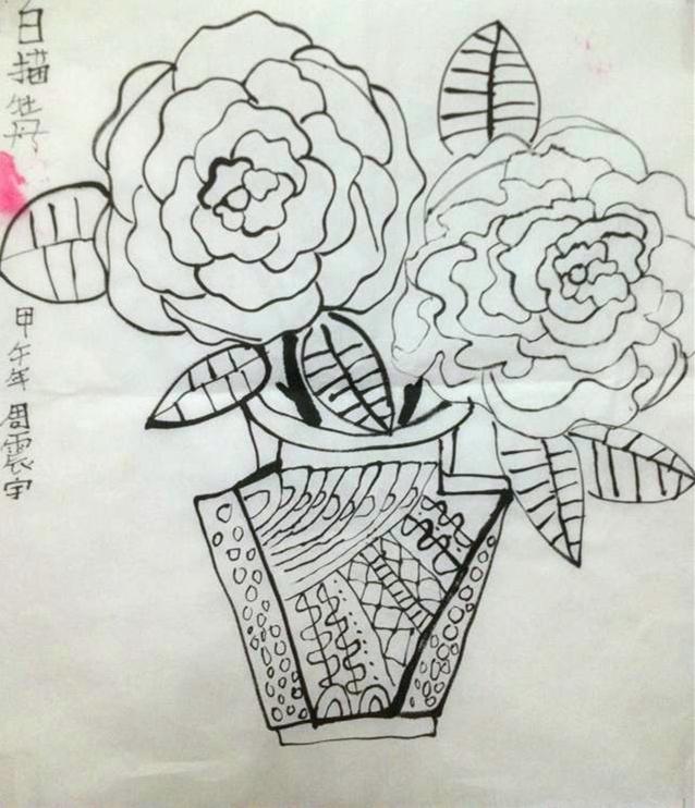 保定小学生儿童画画培训美术班图片