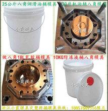 做塑胶模具,6KG欧式塑料桶模具,6KG欧式包装桶模具,6KG欧式胶水桶模具图片