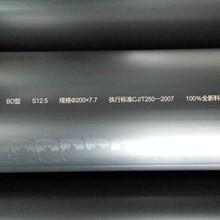 虹吸雨水管、聚乙烯钢丝网管、PE100消防用塑料复合管图片