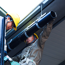 工厂~DN250/9.6hdpe虹吸雨水管道安装方法/详图/雨水管安装费~厂图片