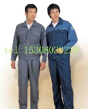 廠礦企業工作服制服勞保服工程服裝訂制圖片