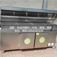成都哪有销售烧烤用碳烤无烟烧烤炉,双净化器两米价格最低价图片