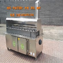 成都地区出售烧烤店、夜排档高效环保无烟烧烤炉、油烟净化烧烤车质量保证98%净化图片