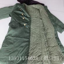 军绿色棉大衣,防寒加厚棉大衣