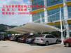 浙江膜结构车棚安装厂家、衢州停车棚效果图